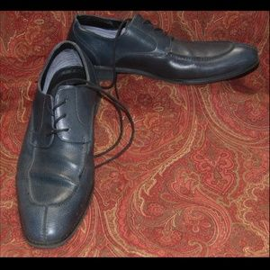 ROBERT WAYNE gray lace up shoes 11D